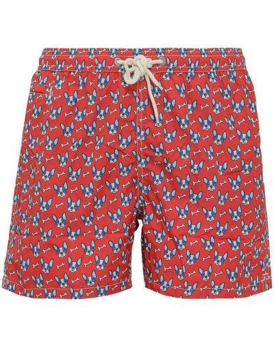Czerwony strój kąpielowy Mc2 Saint Barth