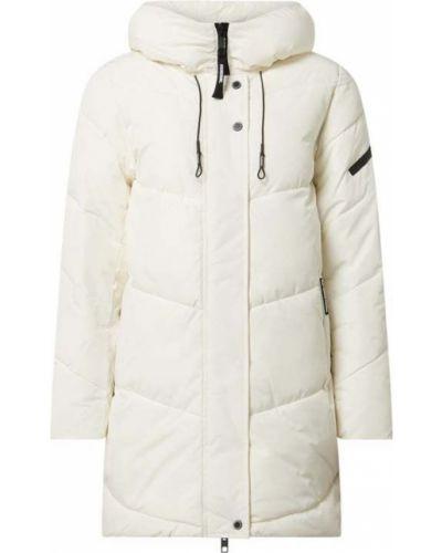 Biała kurtka pikowana rozkloszowana Khujo