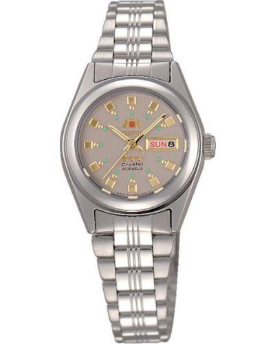 Водонепроницаемые часы с круглым циферблатом классические Orient