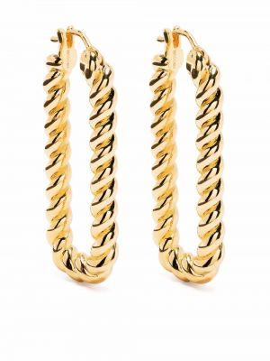 Złote kolczyki sztyfty pozłacane Missoma