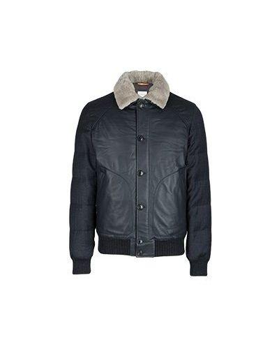 Черная кожаная куртка Cortigiani