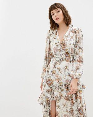 Платье с запахом осеннее Adl