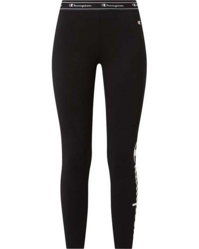 Czarne spodnie bawełniane Samoon