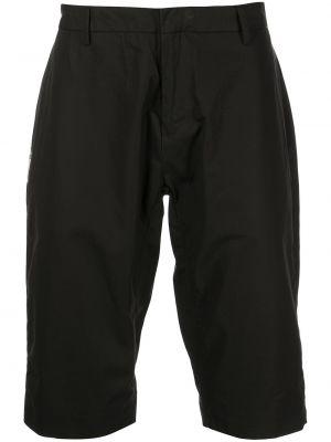 Czarne szorty bawełniane Clot
