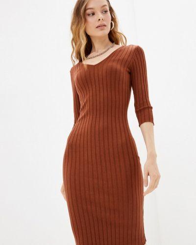 Джинсовое платье - коричневое Guess Jeans