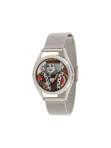 Szwajcarski zegarek szary biznes Mr Jones