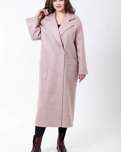 Розовое пальто весеннее Sergio Cotti
