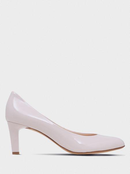 Кожаные туфли - розовые Hogl