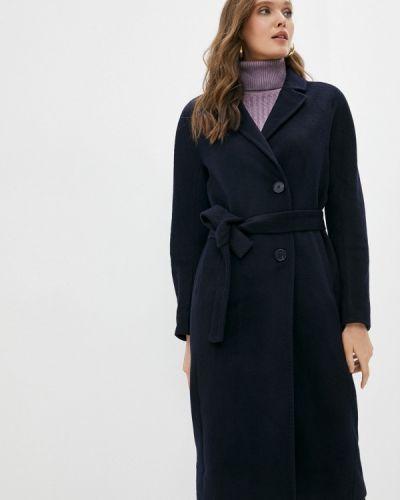 Синее пальто осеннее Shartrez