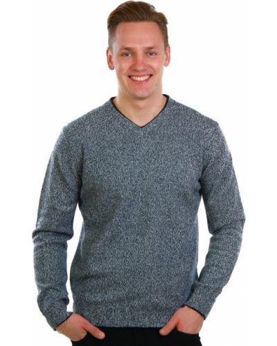 Голубой свитер Lagerfeld