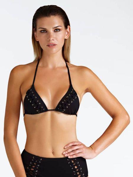 Czarny bikini materiałowy Guess