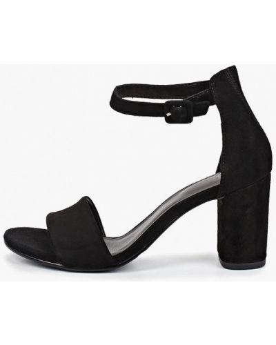 Босоножки черные на каблуке Vagabond