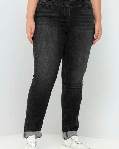 Черные зимние джинсы Samoon By Gerry Weber