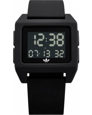 Czarny sport zegarek Adidas