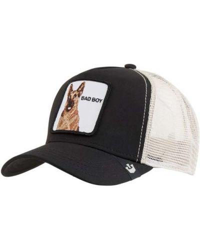Czarna czapka bawełniana Goorin Bros