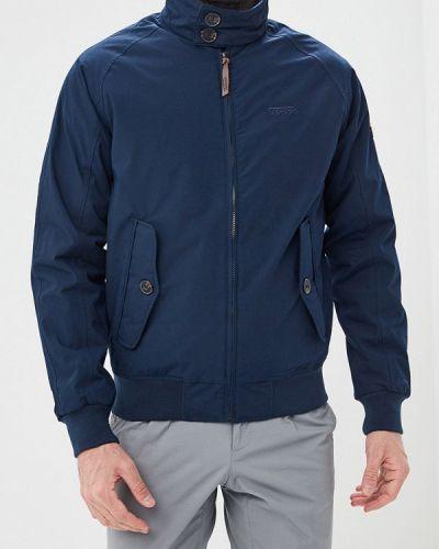 Утепленная куртка демисезонная синяя Tenson