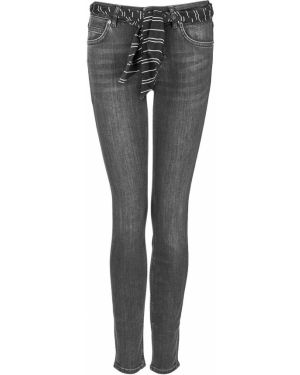 Серые джинсы с воротником с поясом Marc O`polo