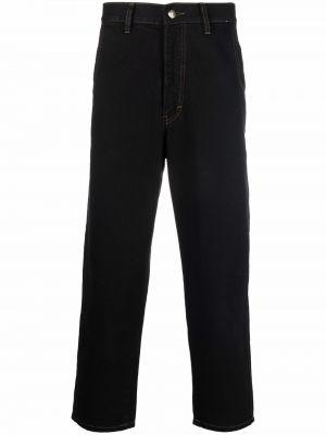 Джинсовые прямые джинсы - черные SociÉtÉ Anonyme