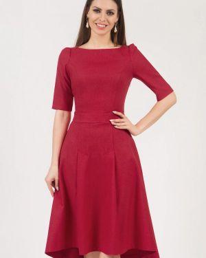Платье миди - красное Olivegrey