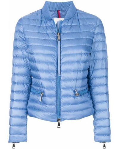 Куртка с карманами из полиэстера пуховая Moncler
