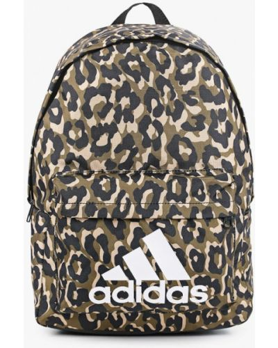 Нейлоновый рюкзак хаки Adidas