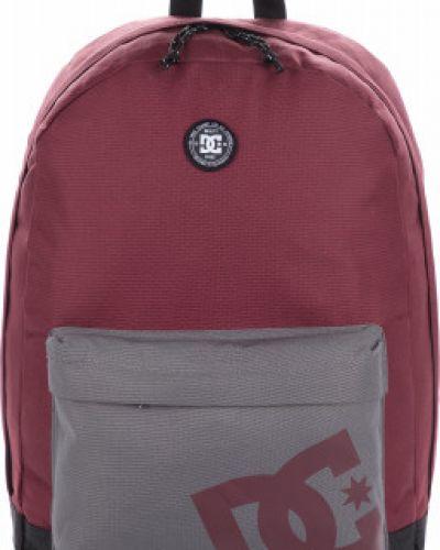 Рюкзак спортивный для ноутбука красный Dc Shoes