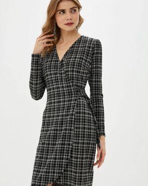 Платье серое прямое Adl