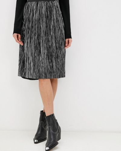 Плиссированная юбка серебряный Noisy May