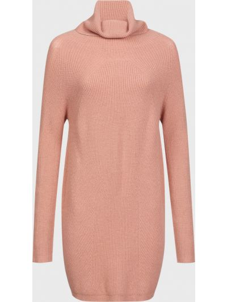 Розовое платье из ангоры Kontatto
