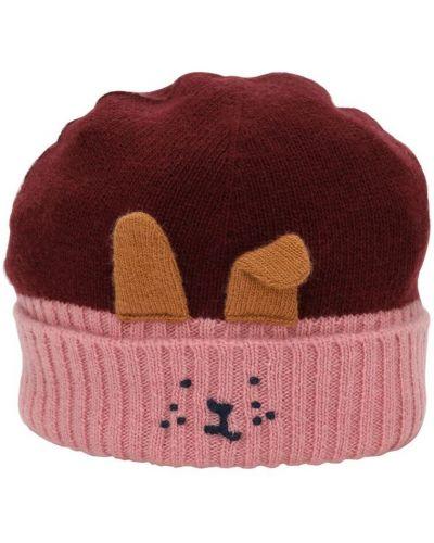 Wełniany kapelusz z haftem Il Gufo