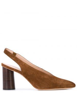 Туфли на каблуке с ремешком с открытой пяткой Loeffler Randall