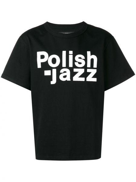 Koszula krótkie z krótkim rękawem prosto polskie Misbhv