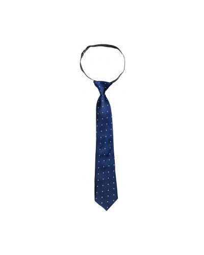 Синий галстук на резинке Button Blue
