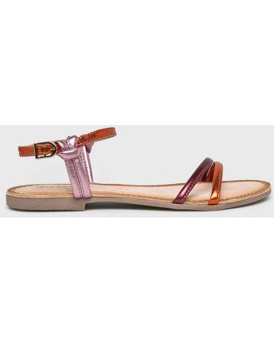 Сандалии кожаный розовый Gioseppo