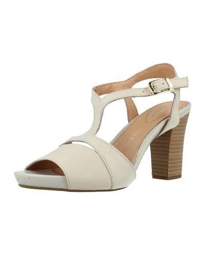 Białe sandały Stonefly