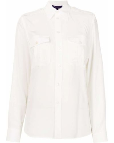 Biała klasyczna koszula Ralph Lauren Collection