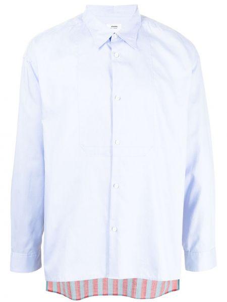 Niebieska lniana koszula Visvim