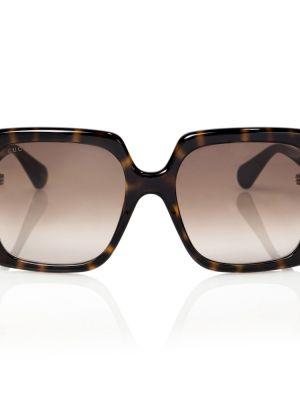 Brązowe okulary Gucci