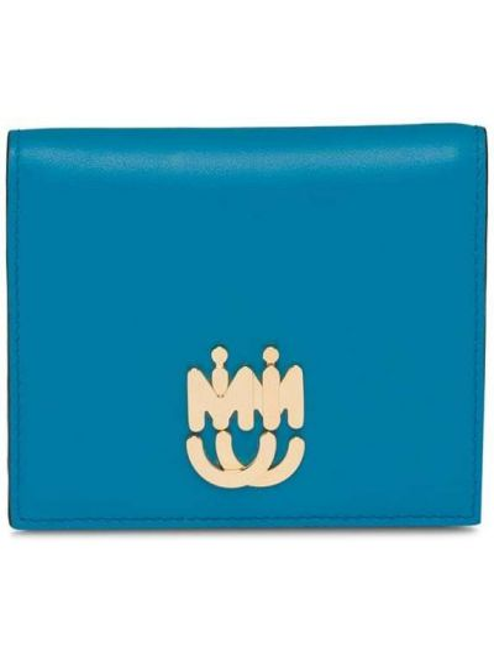 Skórzany portfel Miu Miu
