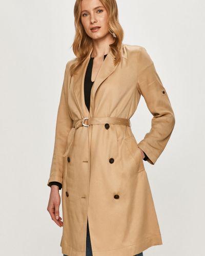 Beżowa kurtka zapinane na guziki Calvin Klein
