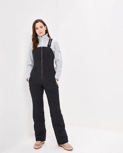 Утепленные брюки - черные Stayer