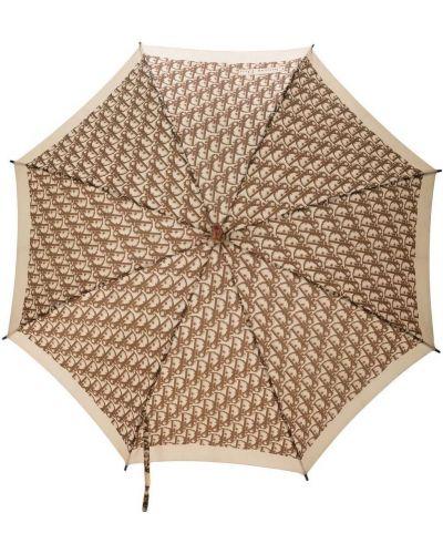 Biały parasol Christian Dior