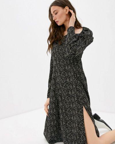 Черное платье с открытыми плечами M,a,k You Are Beautiful