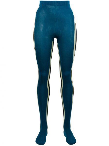 Синие колготки Calvin Klein 205w39nyc
