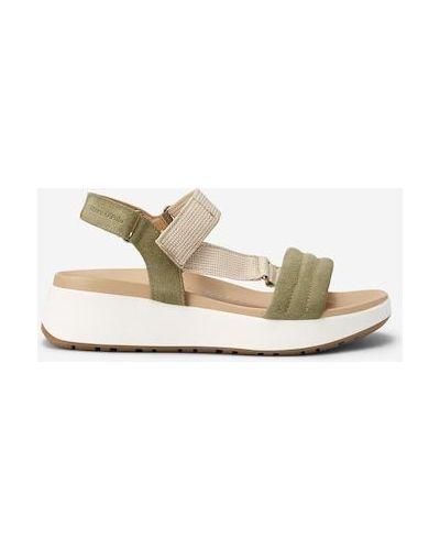 Białe sandały z paskiem Marc O Polo