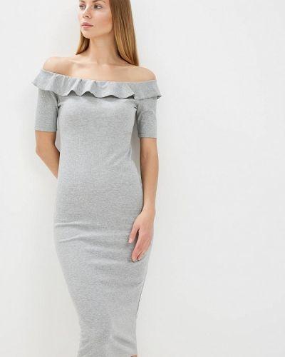 Серое платье весеннее Compania Fantastica