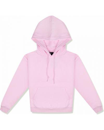 Розовая флисовая толстовка с капюшоном Converse