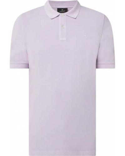 T-shirt bawełniana - fioletowa Scotch & Soda