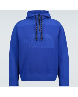 Niebieska bluza z nylonu The North Face Black Series