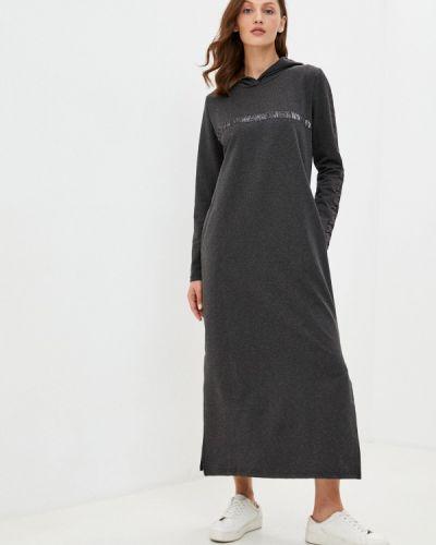 Серое платье Winzor